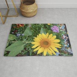 Buoys Love Sunflowers Rug