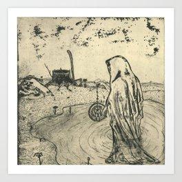 Illusions of Myth (Teeth) Art Print