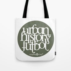 Urban History Futbol Tote Bag