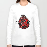 ladybug Long Sleeve T-shirts featuring Ladybug by Knot Your World