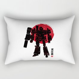 Gun robot Rectangular Pillow