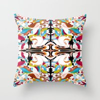 shell Throw Pillows featuring Shell by András Récze