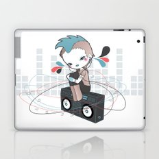 Music is Love is search of a word (Colour variation 2) Laptop & iPad Skin