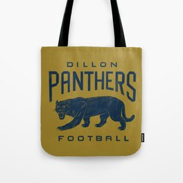 Dillon Panthers Football Tote Bag