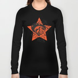 Heart so black Long Sleeve T-shirt