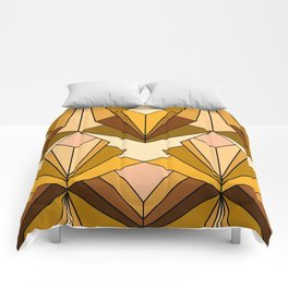 Art Deco meets the 70s - Large Scale Comforters