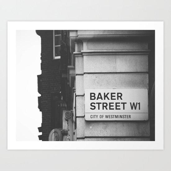 Oh, Sherlock! Art Print
