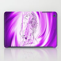 erotic iPad Cases featuring Space and time 8  Erotic by Walter Zettl