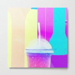Rainbow Drink Metal Print