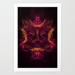 The Visitor 5 Art Print