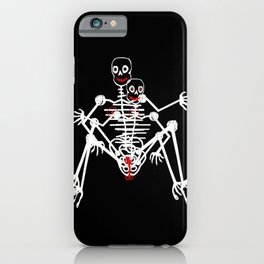 Sex Skeleton iPhone Case