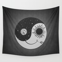 moonrise Wall Tapestries featuring Moonrise by Daniac Design