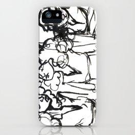 iPhone girl iPhone Case