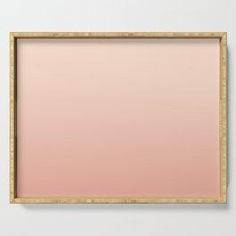 VIRGINIA II - Minimal Plain Soft Mood Color Blend Prints Serving Tray