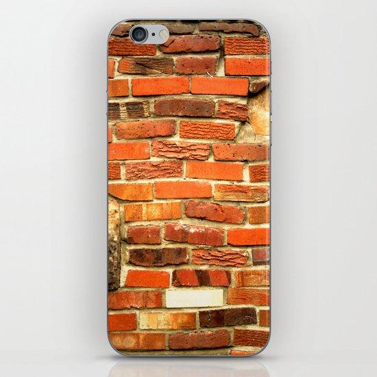 brickwall iPhone & iPod Skin