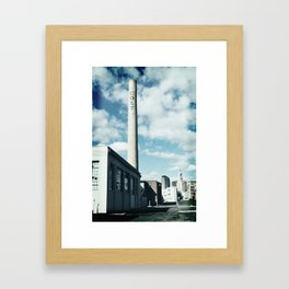colt stack pipe  Framed Art Print