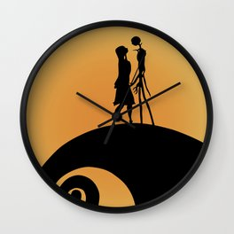 Jack & Sally Wall Clock