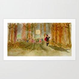 The Pied Piper Art Print