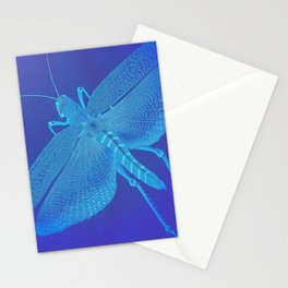 Turquoise Grasshopper Stationery Cards
