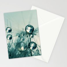One Seed with Blue Drops Stationery Cards