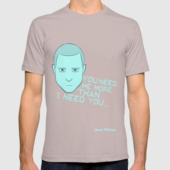 Breaking Bad - Faces - Jesse Pinkman T-shirt