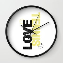Tennis Tennis Ball Ball Sports Gift Wall Clock