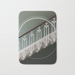 Stairway to heaven - circle graphic Bath Mat