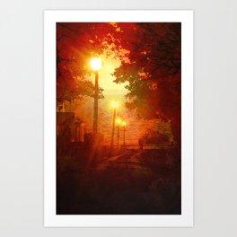 The Westlake Branch Line Art Print