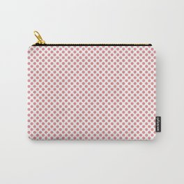 Strawberry Ice Polka Dots Carry-All Pouch
