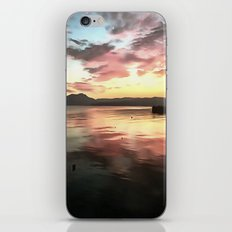 Sunset Reflected On Water iPhone & iPod Skin