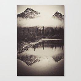 mt lorette Canvas Print