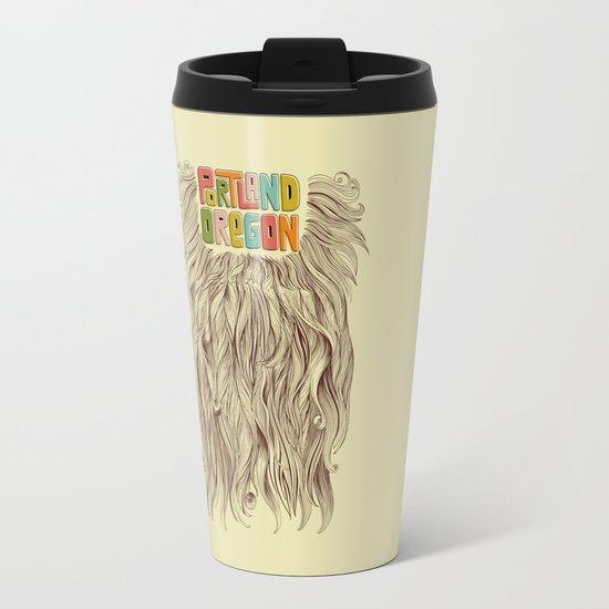 Portland = Beards Travel Mug