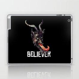 Krampus Believer Gruss Vom Merry Christmas Demon Laptop & iPad Skin