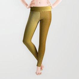 Pure Gold Print Leggings