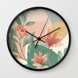 Elegant Shapes 11 Wall Clock