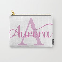 Aurora - Girls Name Carry-All Pouch