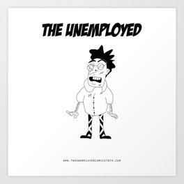The Unemployed - Stelvio Art Print