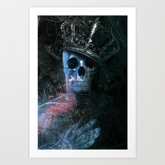 Heartless Kings Art Print