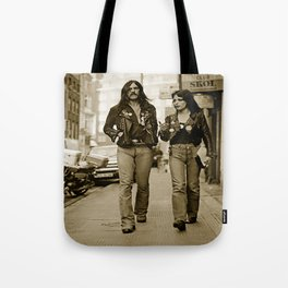 Lemmy and Joan Tote Bag