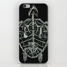 Turtle Skeleton iPhone & iPod Skin