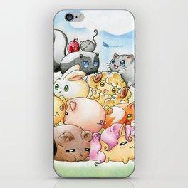 Chibi-Creatures iPhone Skin