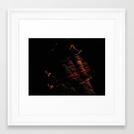 Bright Night Lights 4 Framed Art Print