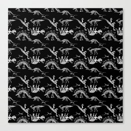 JURASSIC FASHION PARADE Canvas Print