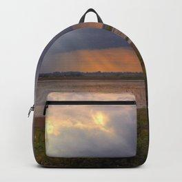 Sunset over the Norfolk Broads, UK Backpack