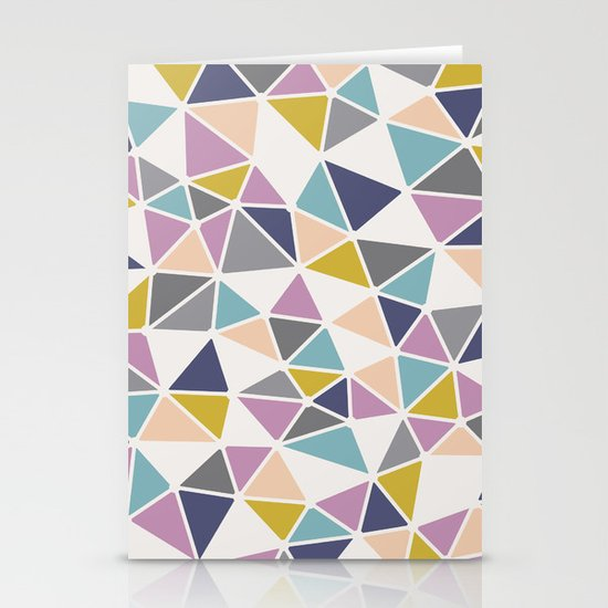 Faceted Heart Stationery Cards