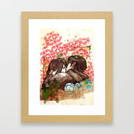 Spring that hasn't come yet Framed Art Print