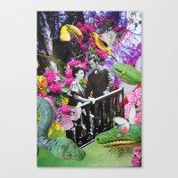 fairy tale Canvas Prints featuring Fairy Tale by John Turck