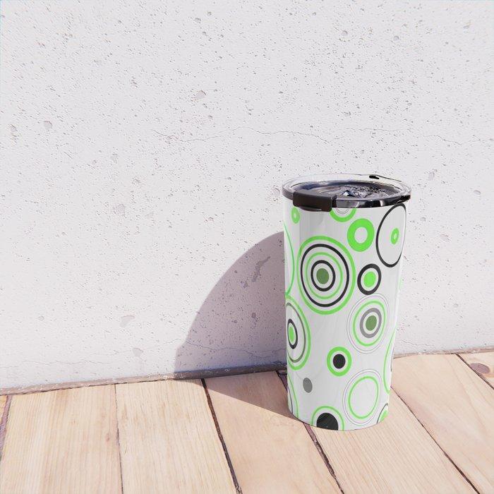 Green&Black combination Travel Mug