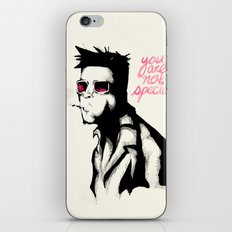 YOU ARE NOT SPECIAL iPhone & iPod Skin