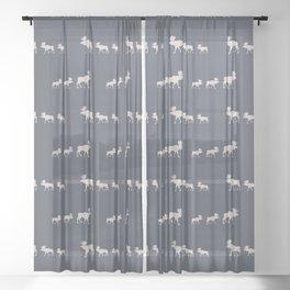 Moose (Lakeside) Sheer Curtain